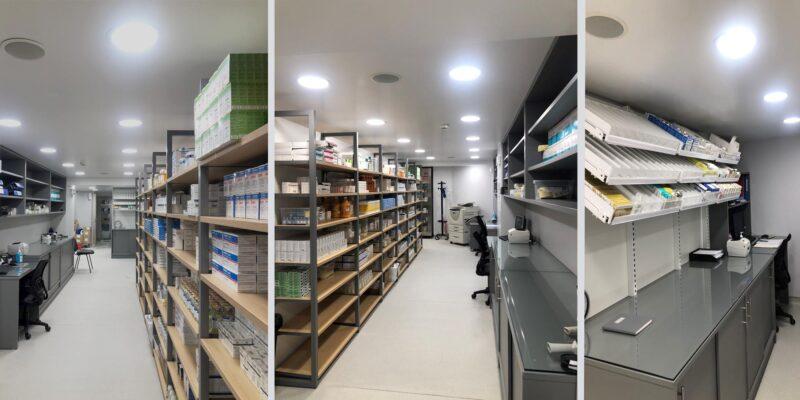 κατασκευή του νέου φαρμακείου του Metropolitan Hospital