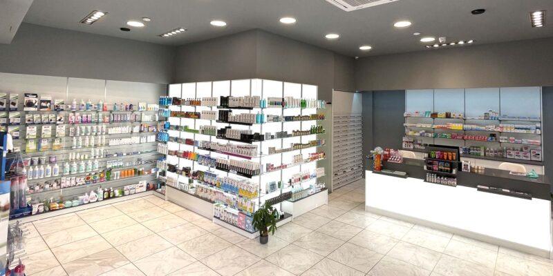 ανακαίνιση κατασκευή φαρμακείου κορυδαλλός